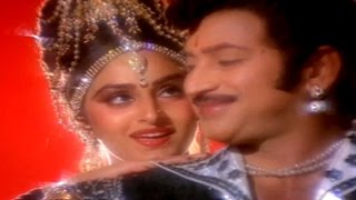Akashamlo Okatara Full Video Song || Simhasanam Movie || Krishna, Jaya Pradha, Mandakini