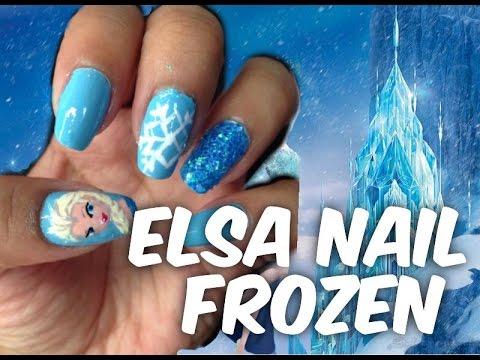 Manicura: Uñas Elsa de Frozen - Juancarlos960