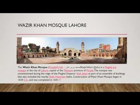 Top Ten mosques Pakistan