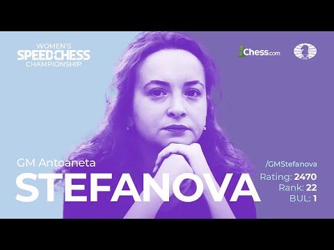 Stefanova vs Cori | Women's Speed Chess Championship