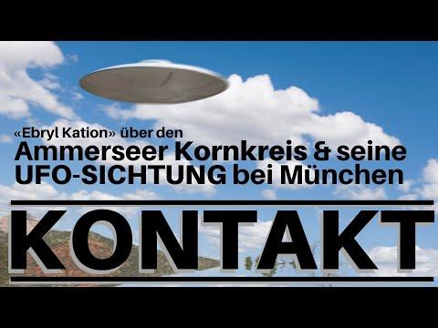 KONTAKT - Über KORNKREISE und UFOs: Kontaktler aus MÜNCHEN berichtet