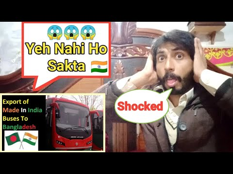 Pakistani Reaction On | Made In India Buses Export to Bangladesh | BRTC Made In India Buses