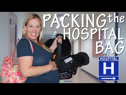 Week 38 Bumpdate -- Packing for the Hospital!