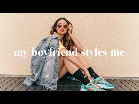 My Boyfriend Styles My Sneakers | Brian Puspos + Aja Dang ...