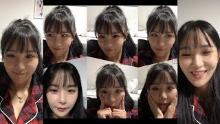 조현영 레인보우 현영 HyunYoung 's 191209 Instagram Live 01 Without Ch…