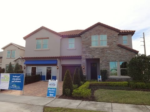 Lake Preserve by Meritage Homes - Sierra Model - Orlando/Lake Nona New Homes