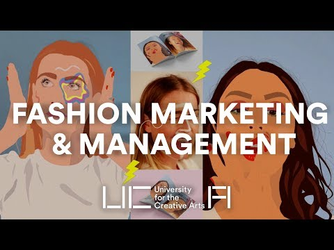 University for the Creative Arts - Fashion Management & Marketing BA