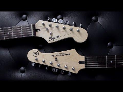 SQUIER BULLET STRAT VS YAMAHA Pacifica 012  - Guitar Battle #8