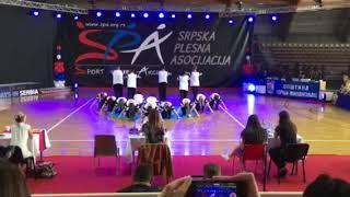 #Star_dance_studio_Čačak ( Hip hop formacija ) #Odrasli  #Scar_crew  Državni šampionat 2017 1. mesto