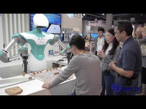 Industrial Technology Research Institute (ITRI) Artificial-Intelligence Robot at CES 2018