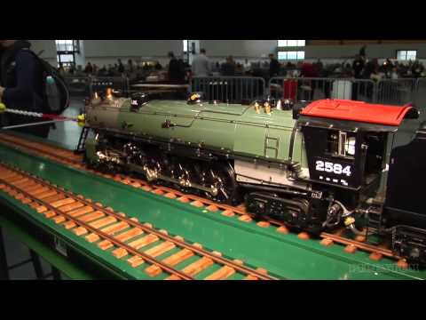 Live Steam and Real Steam Model Train Exhibition