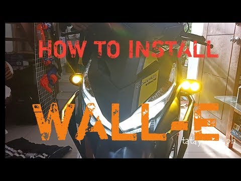 How To Install Wall E Led Light. Honda Click