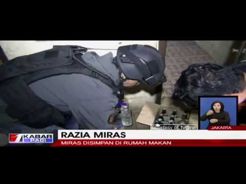 Polres Jaksel Razia Miras di Kawasan Radio Dalam dan Bintaro, Jakarta