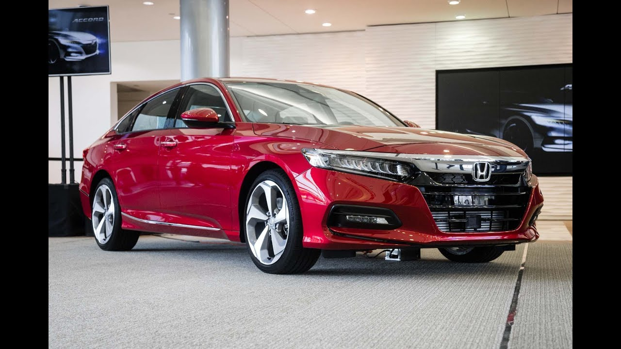 BIGGEST NEWS 2018 Honda Accord Unveiling Of Its US Market Debut Cars Channel