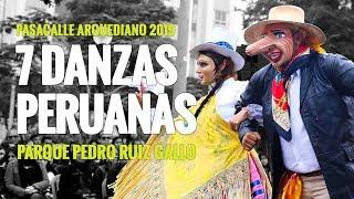 Pasacalle Arguediano 2019: Siete danzas en el Parque Pedro Ruiz Gallo