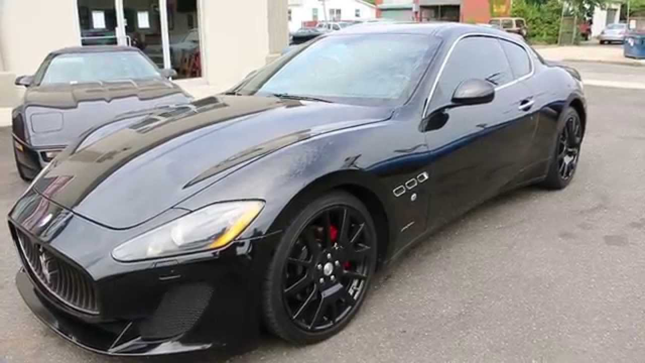Maserati Granturismo Convertible >> 2008 Maserati GranTurismo Coupe For Sale~MC Bumper~Custom Exhaust - YouTube
