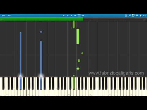 Music Of The Night (piano cover - tutorial)