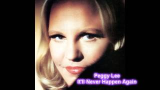 Peggy Lee  It