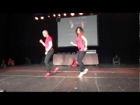 Touch Bachata Shines with Ataca y La Alemana at PBF 2012