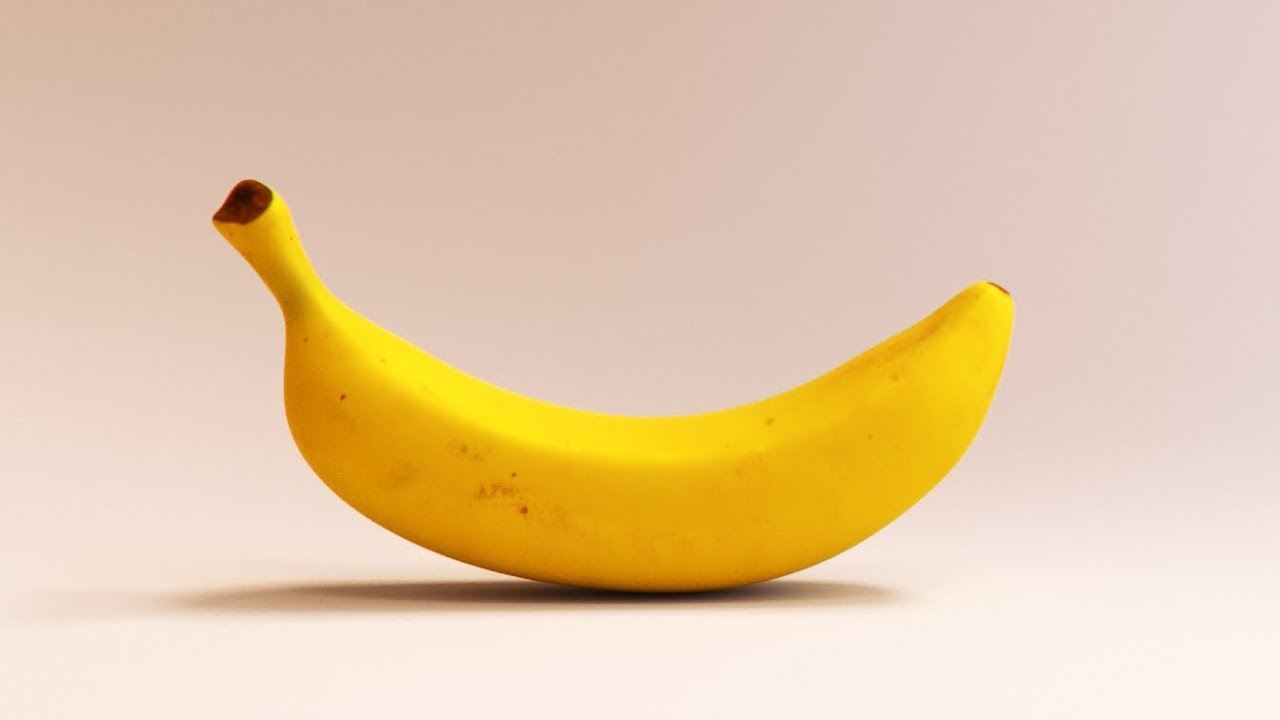 Modeling A Banana With Blender II