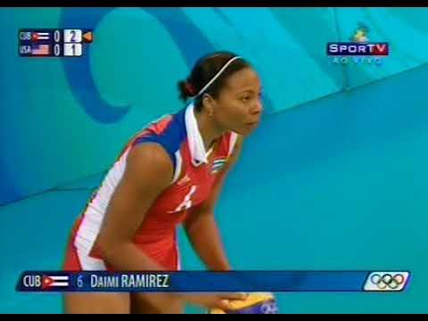 Olympic 2008 Women's Volleyball Semifinal USA - Cuba