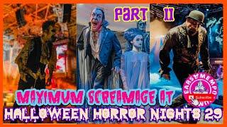 🔴Live:Maximum Screamage at Halloween Horror Nights 29.Part2