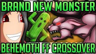 BRAND NEW MONSTER - Behemoth Final Fantasy Crossover - Monster Hunter World! (Info/News/Discussion)