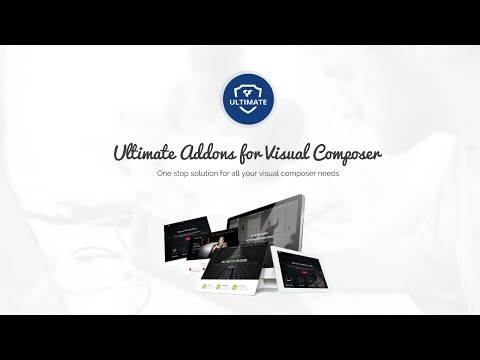 Home Page with Animations - Ultimate Addons for WPBakery