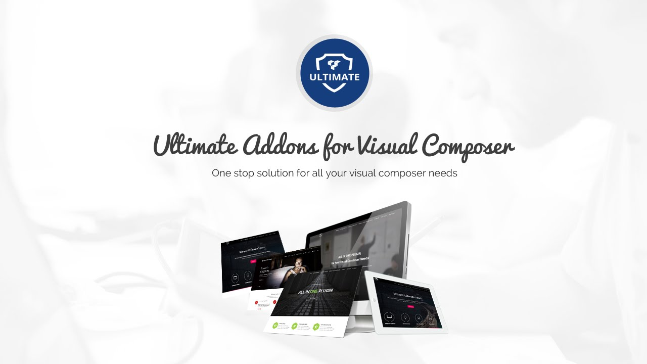 Home Page with Animations - Ultimate Addons for WPBakery Page Builder