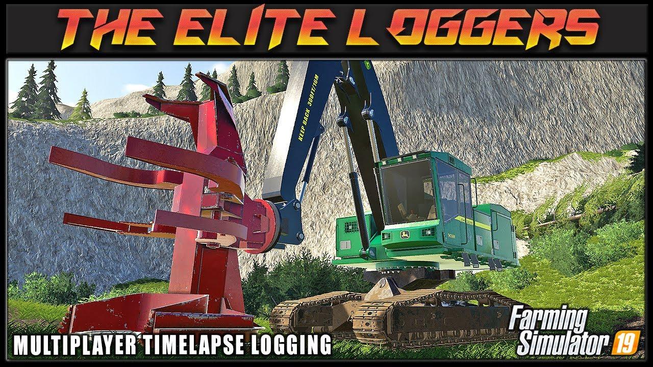 Big Wood Aint No Thang 🙌 TEL #3 🙌 ✔ Farming Simulator 2019 ✔ FDR Logging