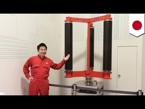 Typhoon turbine: Japanese engineer develops wind turbine to harness power from typhoon - TomoNews