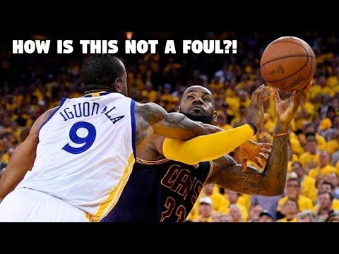 """NBA """"HOW IS THAT NOT A FOUL?!"""" Moments"""