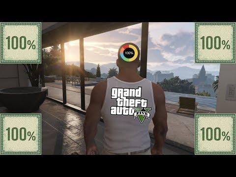 Я прошёл GTA V на 100% ★