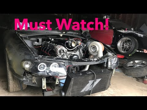 GTO Drift Build Turbo Wont Fit.. Now Intercooler Is To Big.…