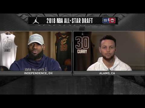 LeBron James & Stephen Curry Reveal 2018 All-Star Draft Teams