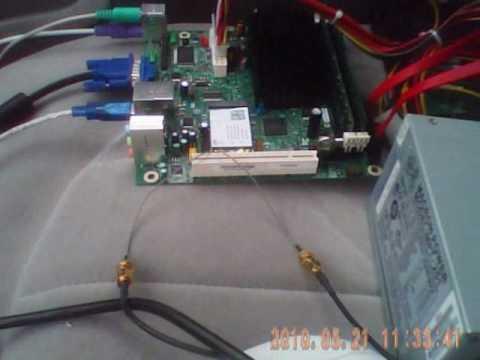 Vistumbler in car real PC