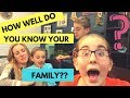 Challenge Games: How Well Do You Know Your Family?