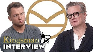 Kingsman 2 interview: kingsman 3, man of steel 2 & alcoholic beverages (2017)