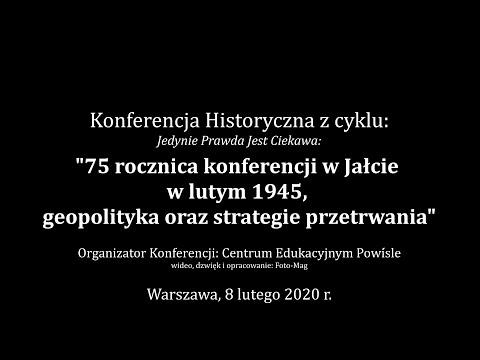 Konferencja Historyczna - II Wojna Światowa: Geopolityka Oraz Strategie Przetrwania