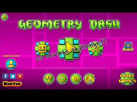 Was 20 Minutes This Short? [Geometry Dash 20 Minute Challenge With Temi!]