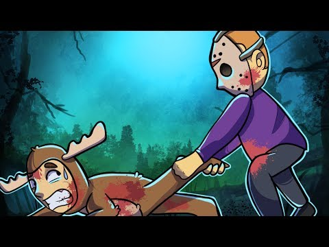 PURPLE JASON MURDERS MOOSE!! | Friday the 13th Online Funny Moments