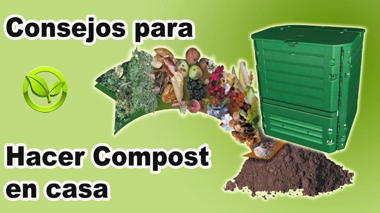 El compost hacer compost casero abono organico - Abono organico para plantas ...