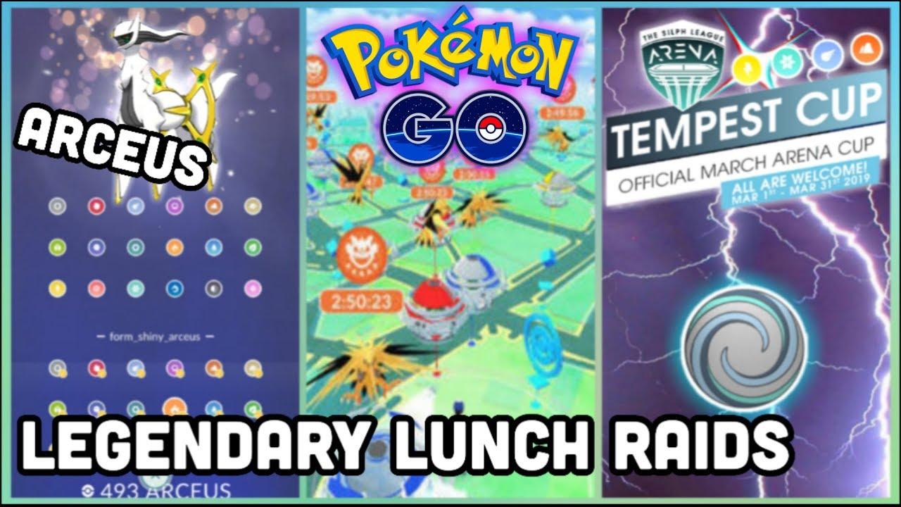 Every Gym A Legendary Raid In Pokemon Go Arceus Pokedex Types