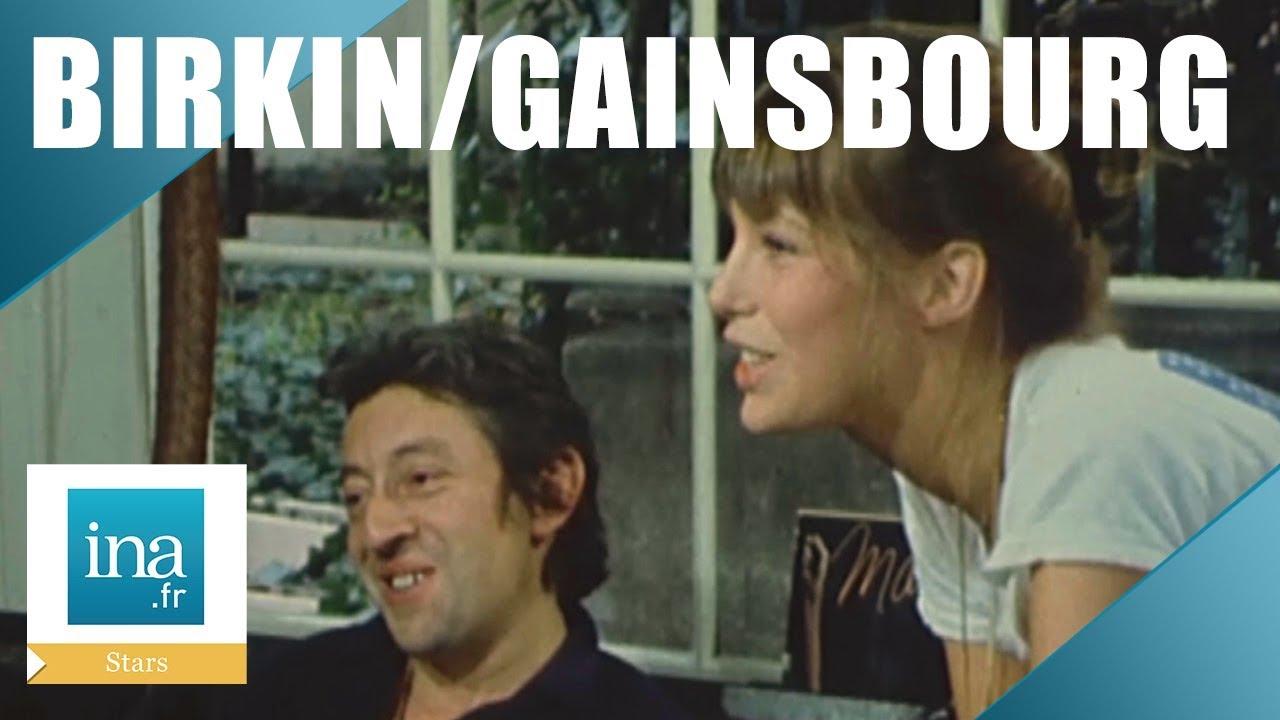 Maison Serge Gainsbourg Visite Intérieur 1972 : À la maison avec serge gainsbourg et jane birkin | archive ina