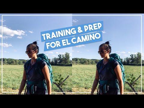 TRAINING & PREPARING for El Camino De Santiago | week in my life