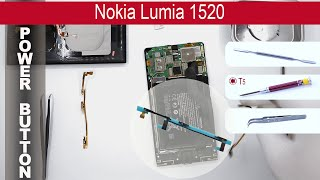 How to replace 🔧 📱 Power button & Volume buttons Nokia Lumia 1520 (RM 937, RM 938, RM 939)(How to replace power button flex Nokia Lumia 1520 (RM 937) by himself. Removal Volume buttons Nokia Lumia 1520 (RM 938) at home with a minimal set ..., 2015-05-05T16:53:21.000Z)
