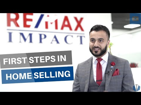 First Steps in Home Selling