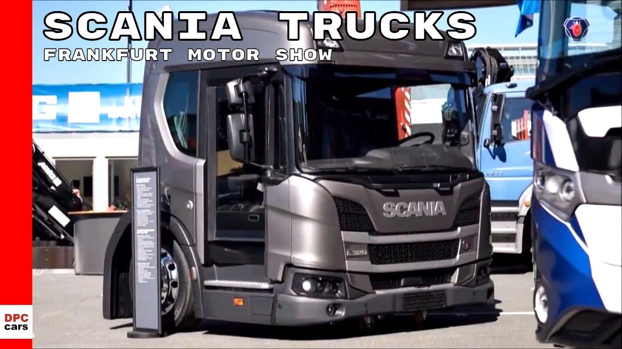 scania trucks presentation at iaa 2018 frankfurt motor. Black Bedroom Furniture Sets. Home Design Ideas