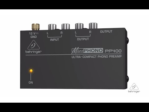 MICROPHONO PP400 Ultra-Compact Phono Preamp