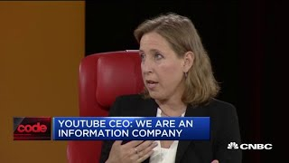 YouTube CEO Susan Wojcicki faces tough questions at Code Con